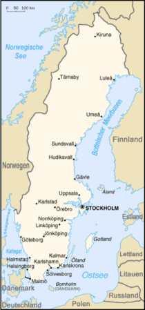 Schweden - Karten