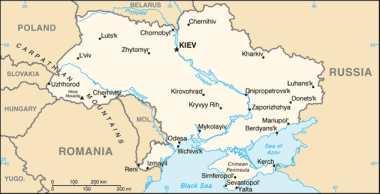 Ukraine: Karte